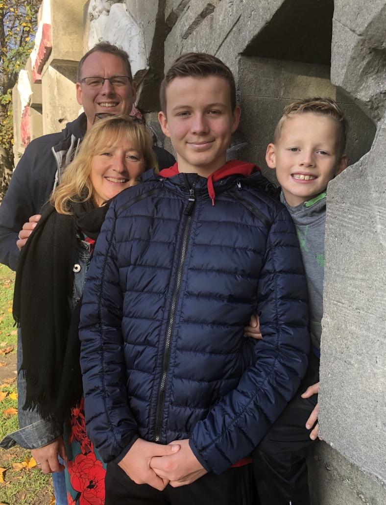 Mit der Familie in Danzig
